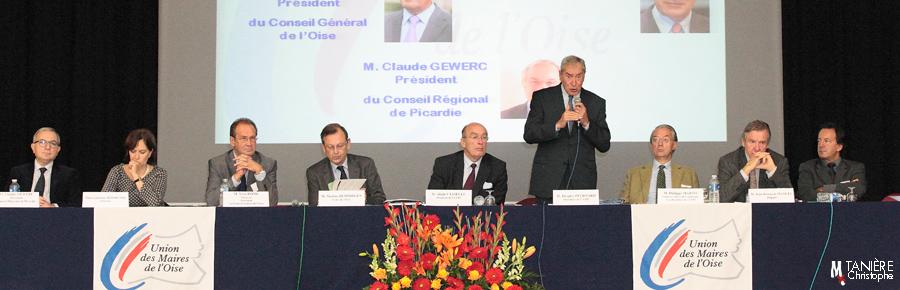 Assemblée générale Union maires Oise