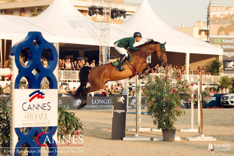 Jumping international Global Champion Tour Cannes 2013