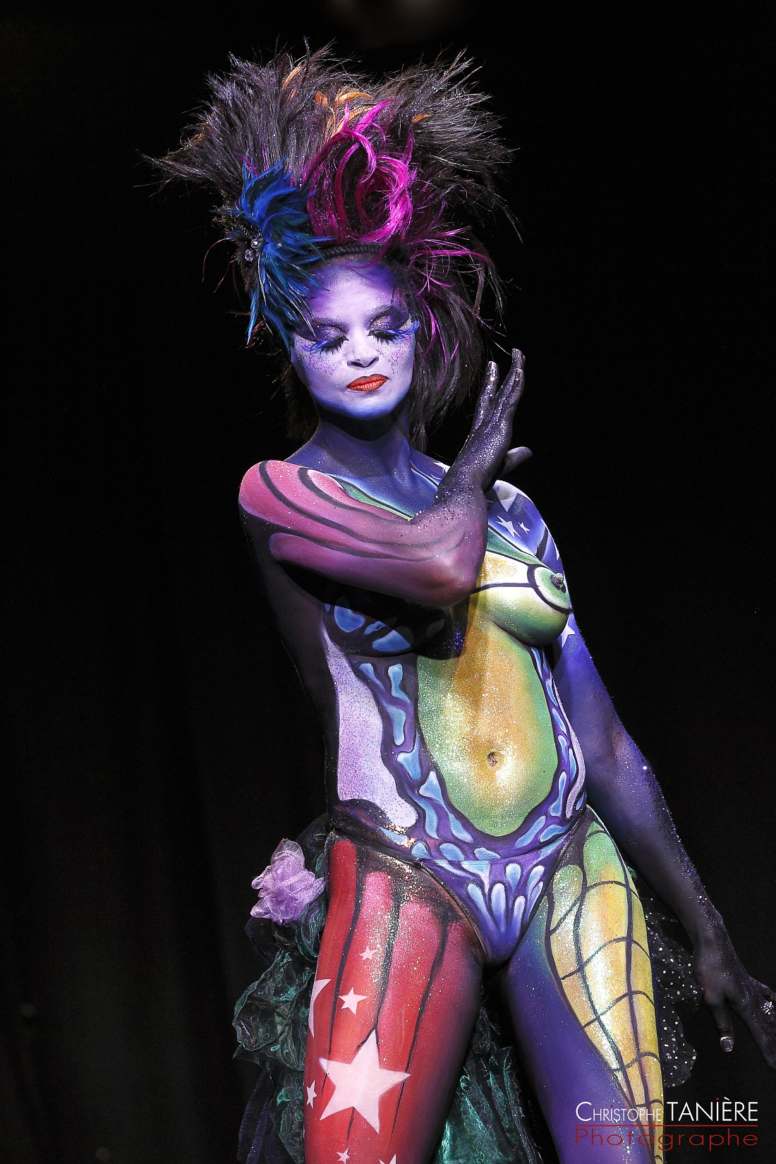 Make Up for ever-body painting-photo2