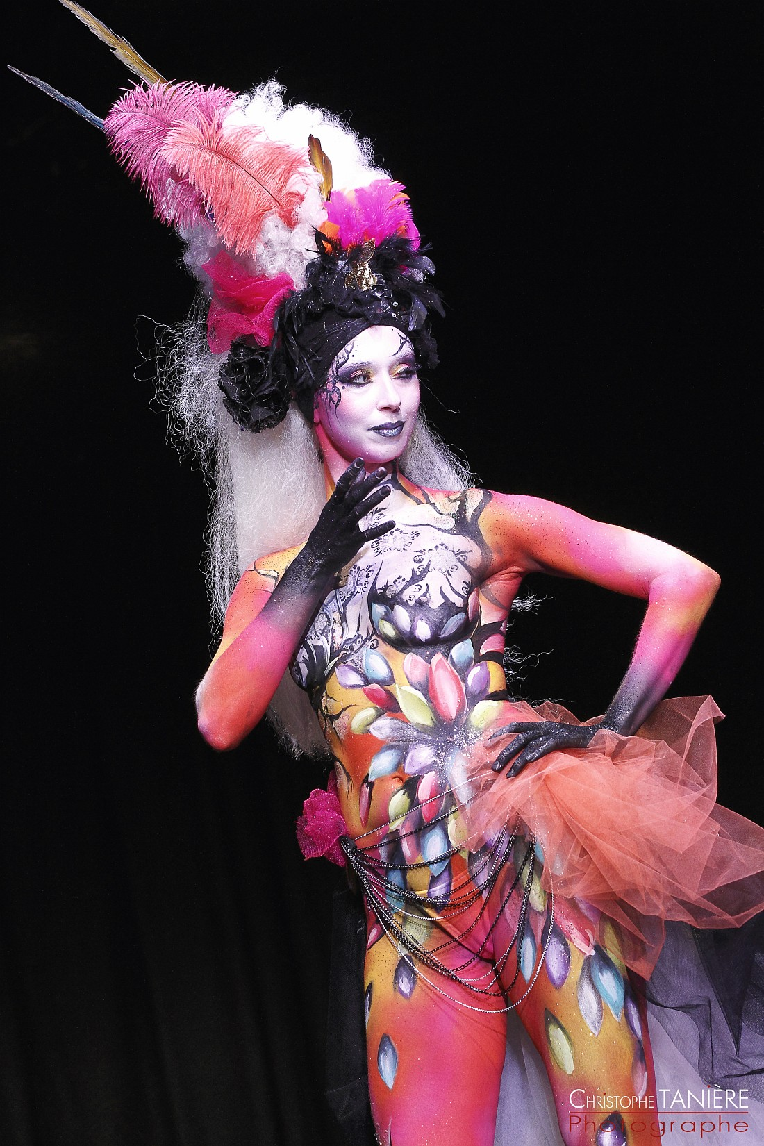 Make Up for ever-body painting-photo5