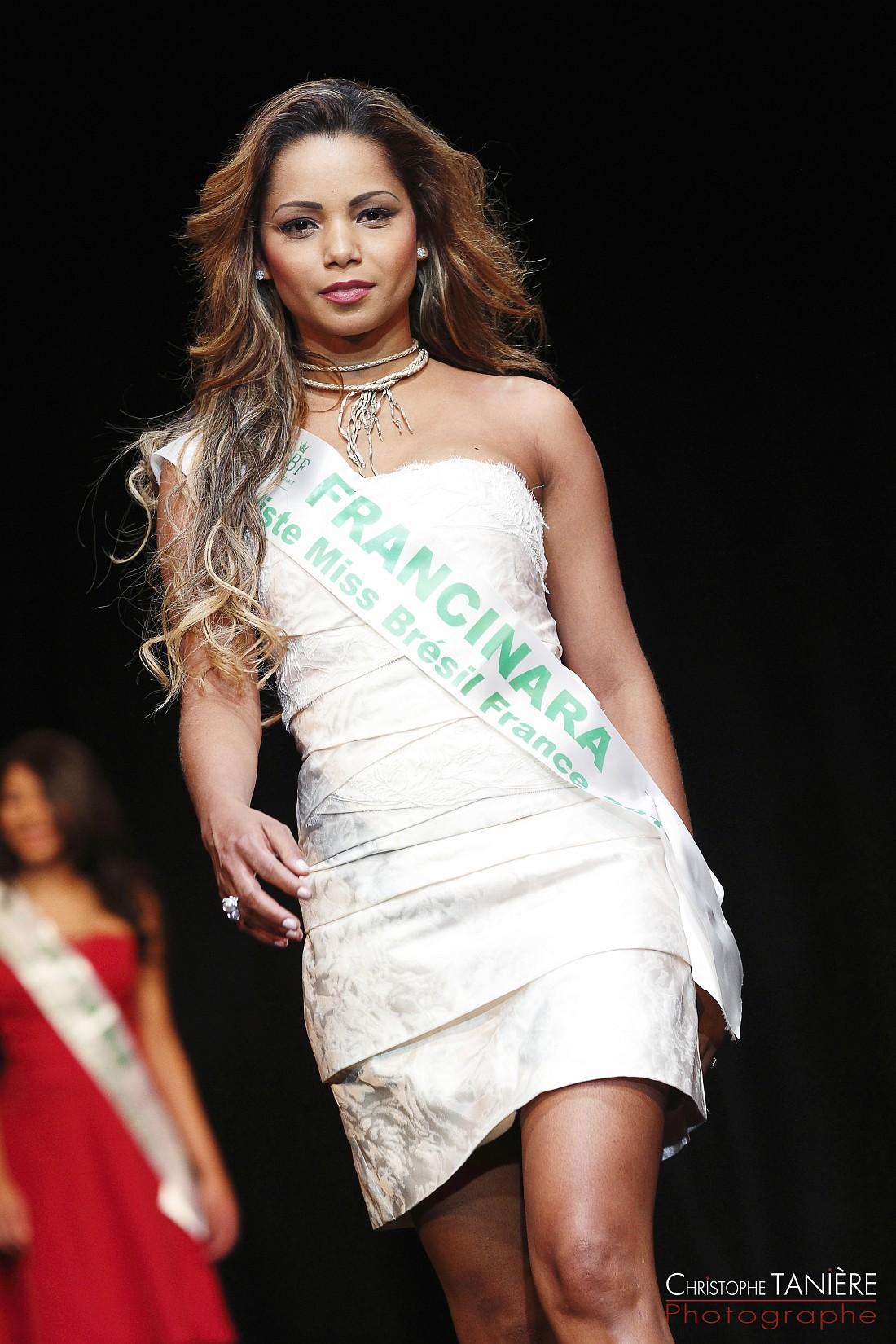 Miss Brésil-France-Francinara Souza Campos