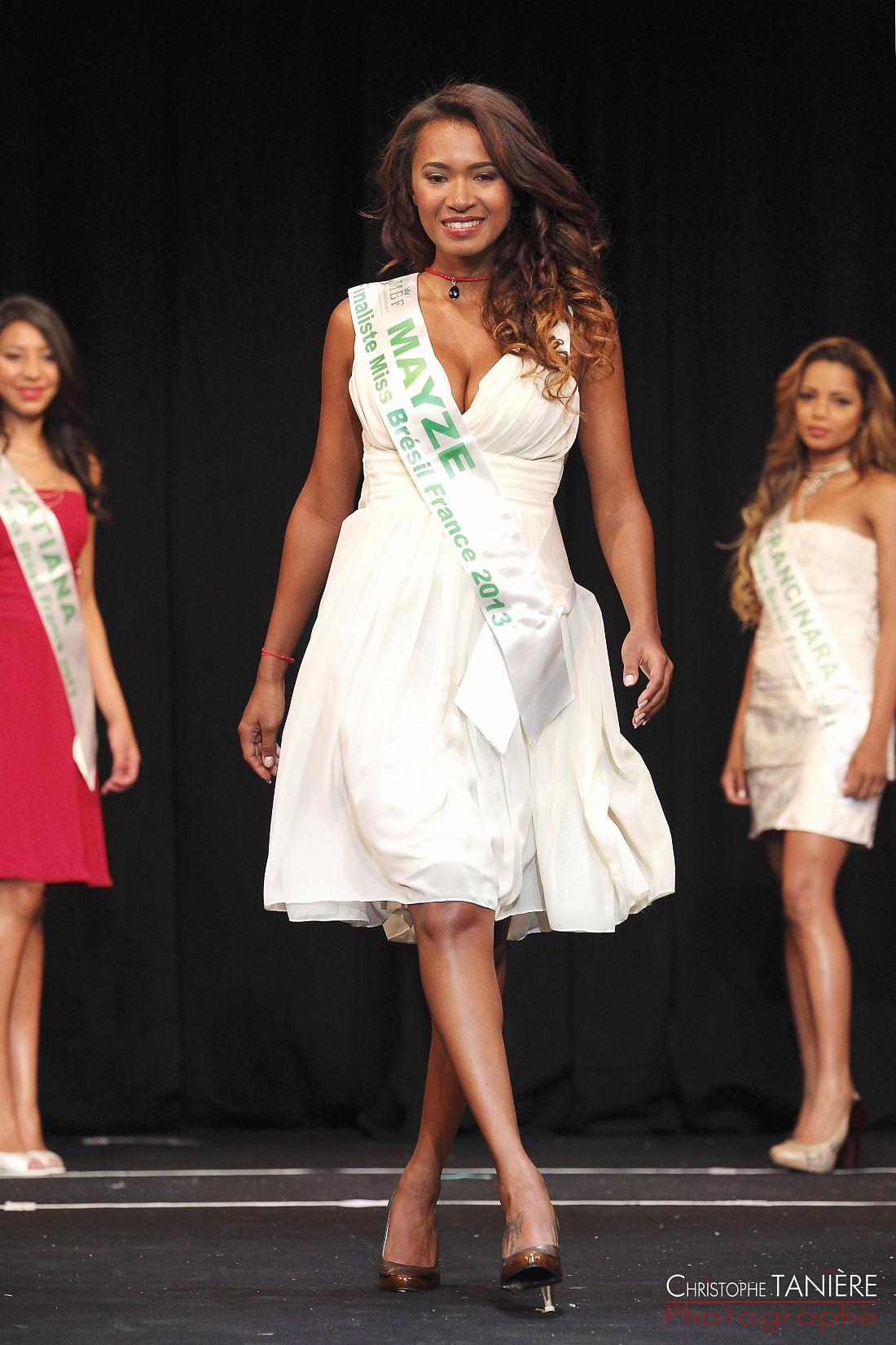 Miss-Bresil-France-Mayze Sousa-presentation