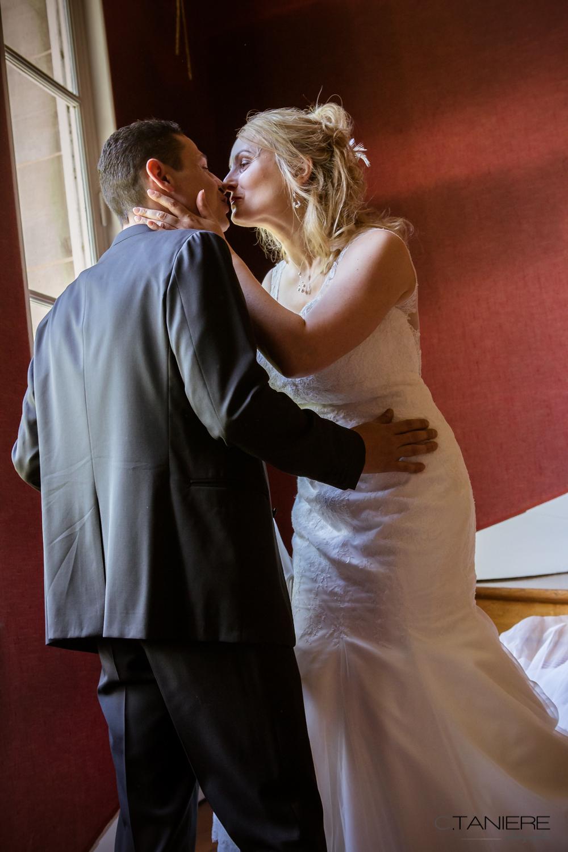 23-premier baiser mariage