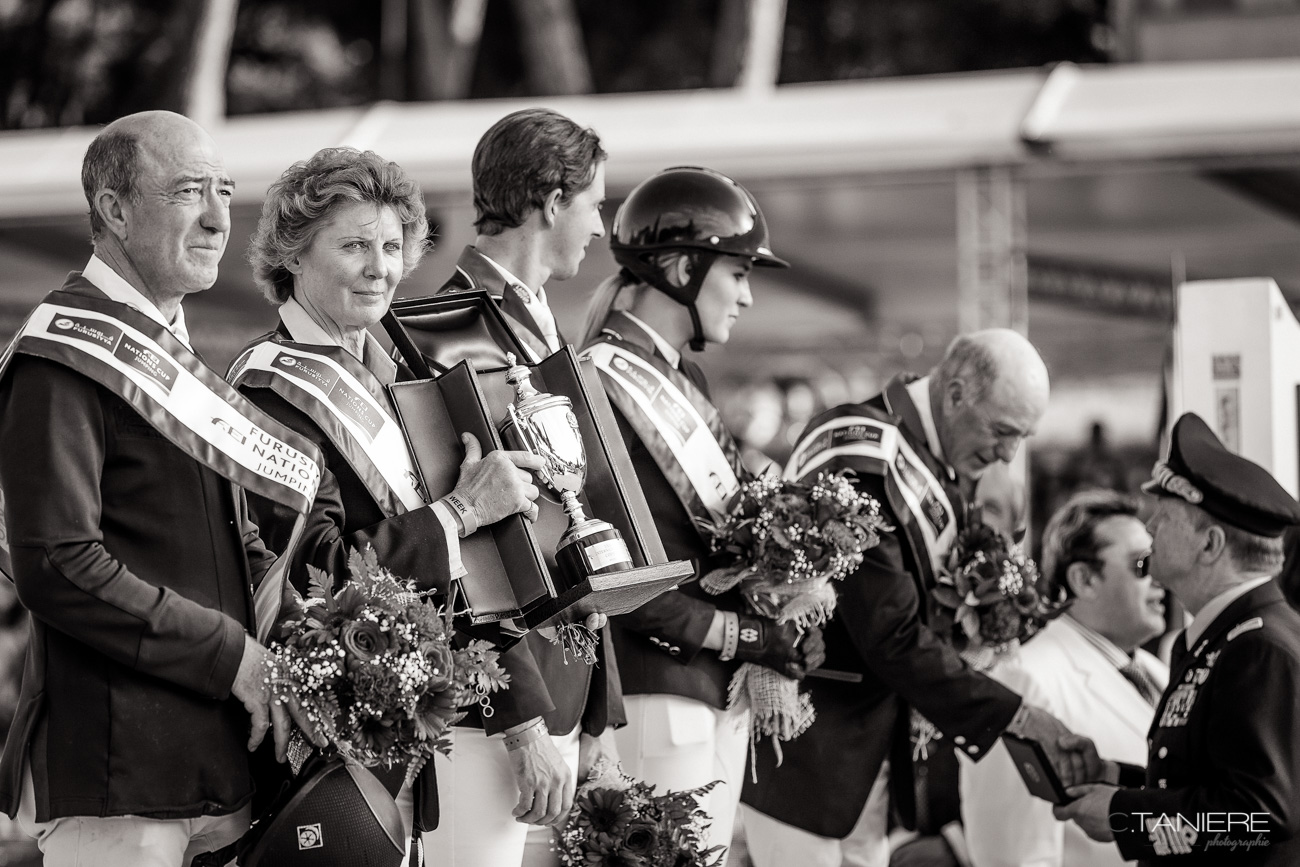 Prize giving-Coupe des Nations-Rome