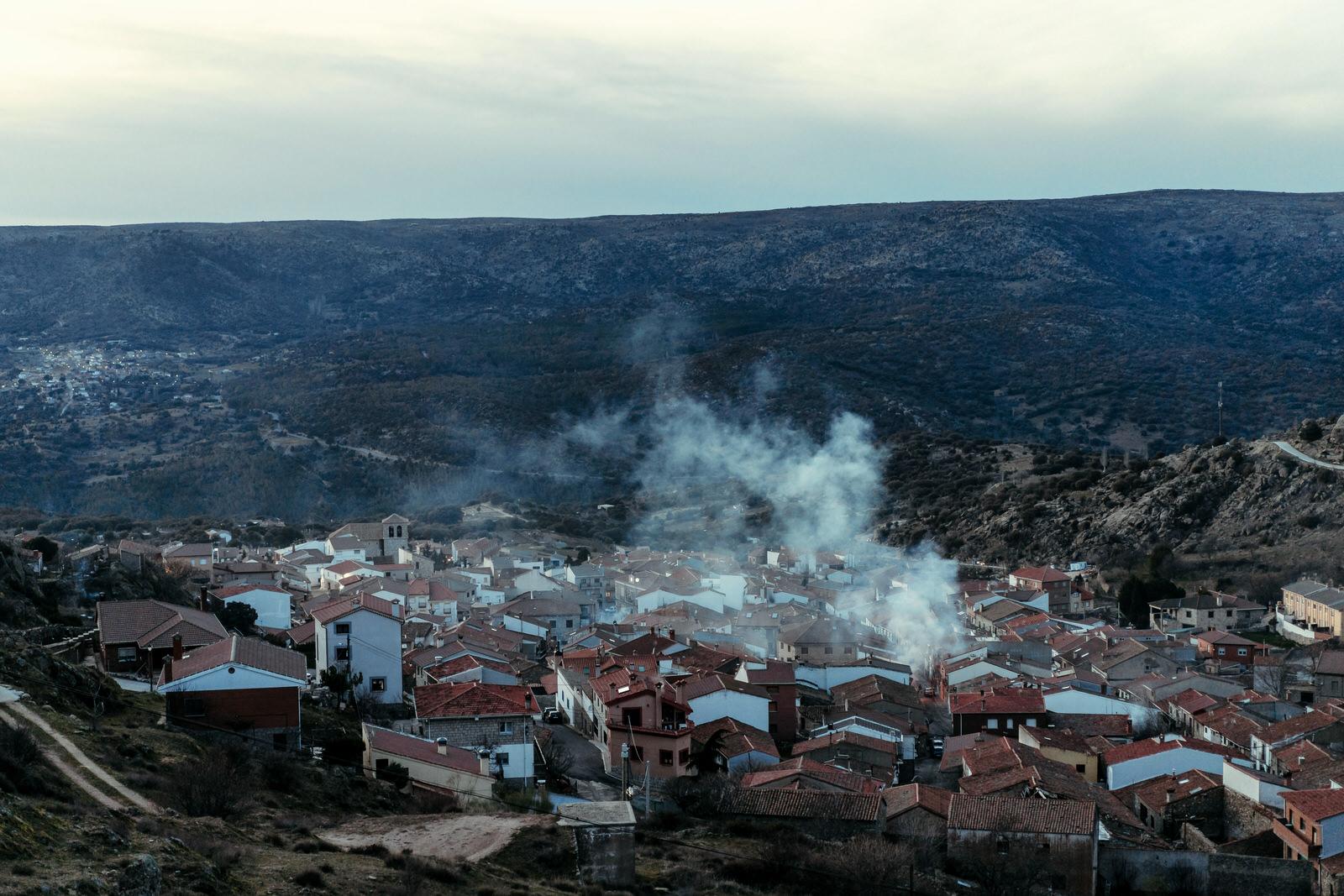 village de San Bartolome de Pinares